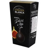 Figové bonbóny plnené čokoládový krémom