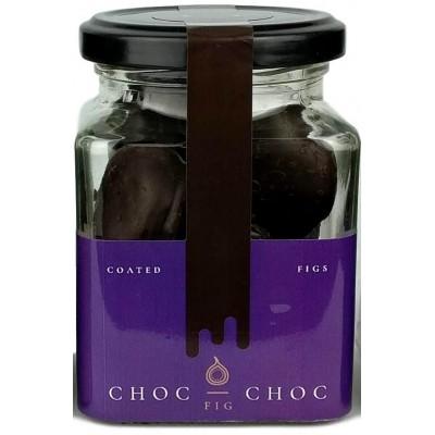 Sušené figy v čokoláde 120g sklenná dóza